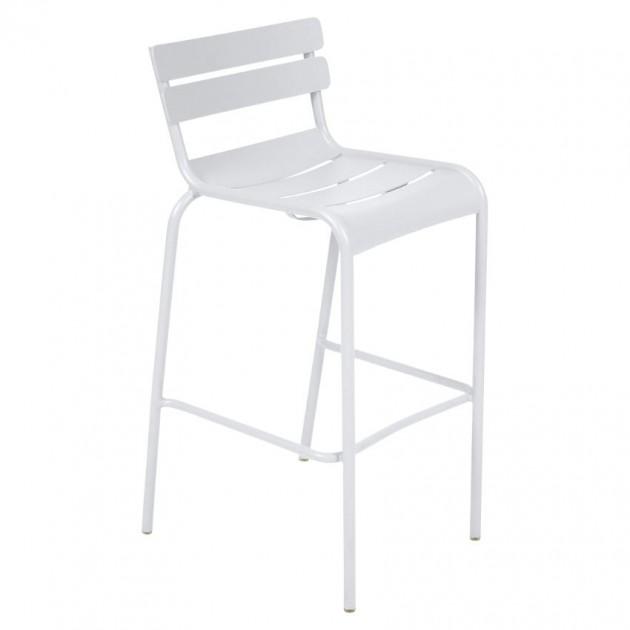 Барний стілець Luxembourg 4103 Cotton White (410301) - Барний стілець Luxembourg Fermob