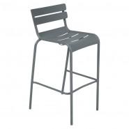 Барний стілець Luxembourg 4103 Storm Grey (410326) - Барний стілець Luxembourg Fermob
