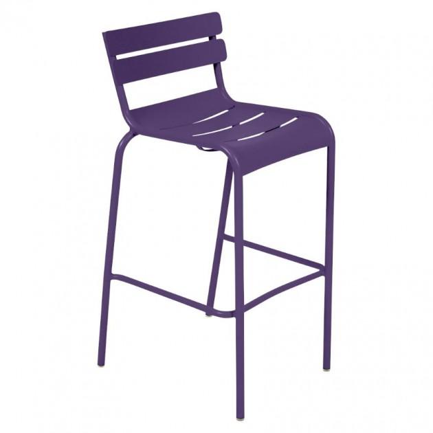 Барний стілець Luxembourg 4103 Aubergine (410328) - Барний стілець Luxembourg Fermob