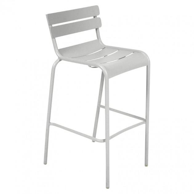 Барний стілець Luxembourg 4103 Steel Grey (410338) - Барний стілець Luxembourg Fermob