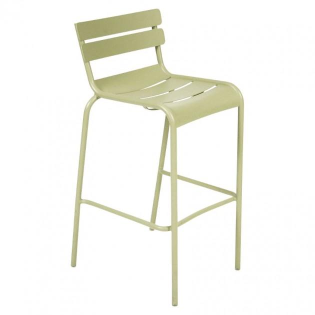 Барний стілець Luxembourg 4103 Willow Green (410365) - Барний стілець Luxembourg Fermob