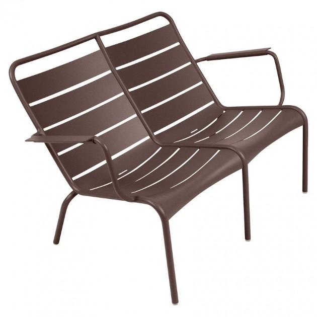 Подвійне крісло Luxembourg Duo 4105 Russet (410509) - Подвійне крісло Luxembourg Fermob