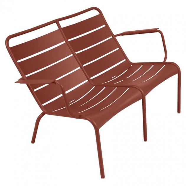 Подвійне крісло Luxembourg Duo 4105 Red Ochre (410520) - Подвійне крісло Luxembourg Fermob