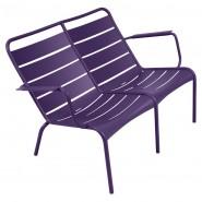 Подвійне крісло Luxembourg Duo 4105 Aubergine (410528) - Подвійне крісло Luxembourg Fermob