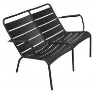 Подвійне крісло Luxembourg Duo 4105 Liquorice (410542) - Подвійне крісло Luxembourg Fermob