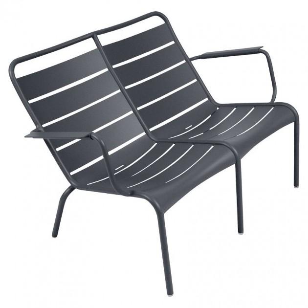 Подвійне крісло Luxembourg Duo 4105 Anthracite (410547) - Подвійне крісло Luxembourg Fermob