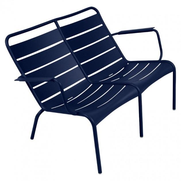 Подвійне крісло Luxembourg Duo 4105 Deep Blue (410592) - Подвійне крісло Luxembourg Fermob