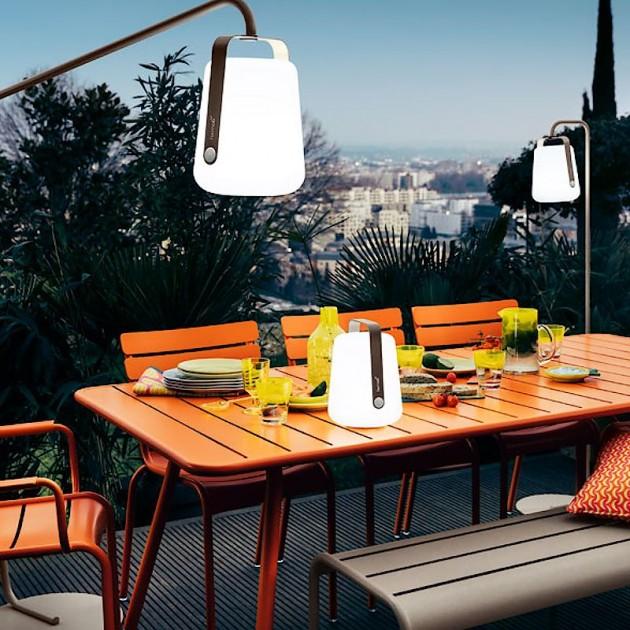 Обідній стіл Luxembourg 4132 Cotton White (413201) - Стіл Luxembourg 207x100 Fermob