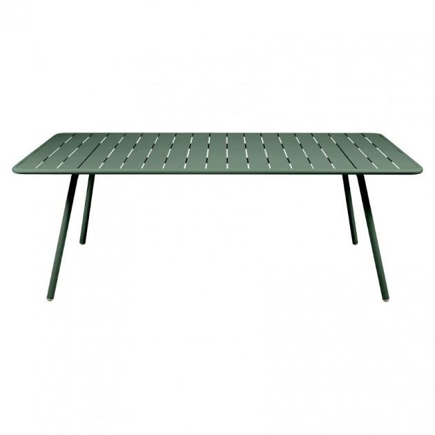 Обідній стіл Luxembourg 4132 Cedar Green (413202) - Стіл Luxembourg 207x100 Fermob