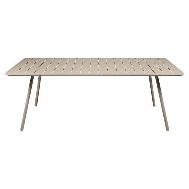 Обідній стіл Luxembourg 4132 Nutmeg (413214) - Стіл Luxembourg 207x100 Fermob