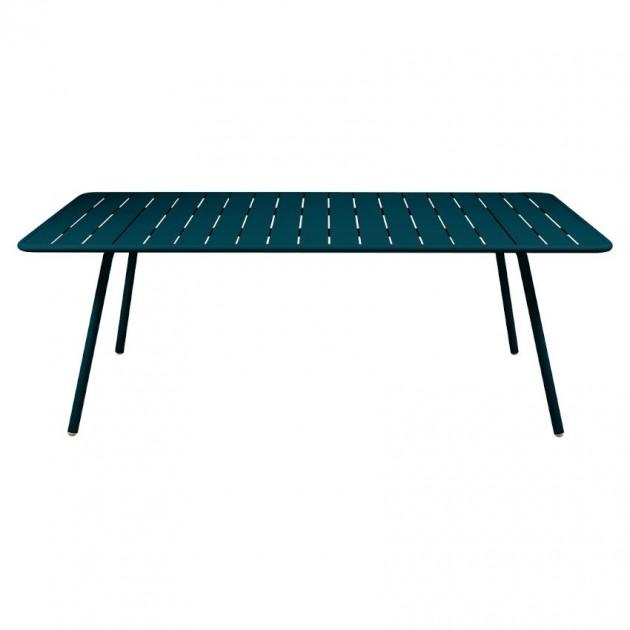 Обідній стіл Luxembourg 4132 Acapulco Blue (413221) - Стіл Luxembourg 207x100 Fermob