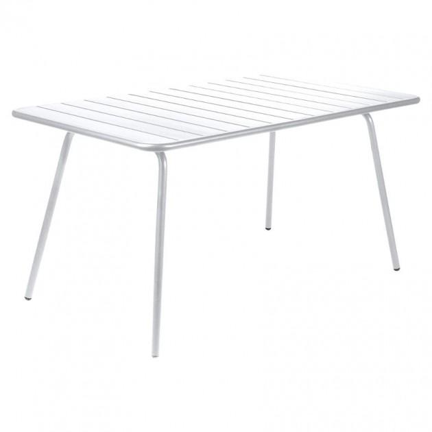 Обідній стіл Luxembourg 4133 Cotton White (413301) - Стіл Luxembourg 143x80 Fermob