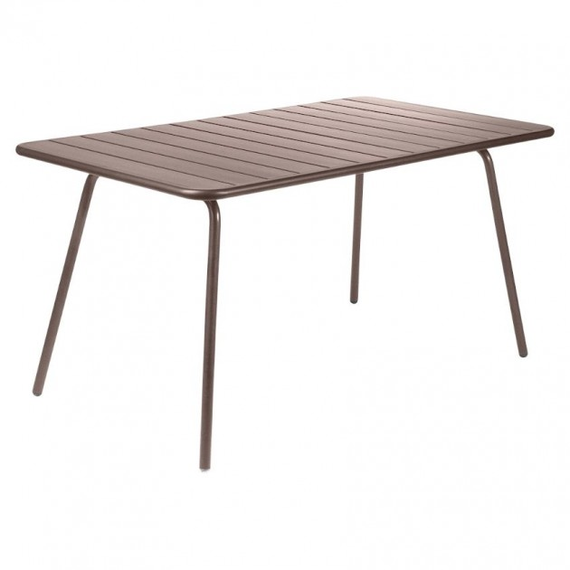 Обідній стіл Luxembourg 4133 Russet (413309) - Стіл Luxembourg 143x80 Fermob