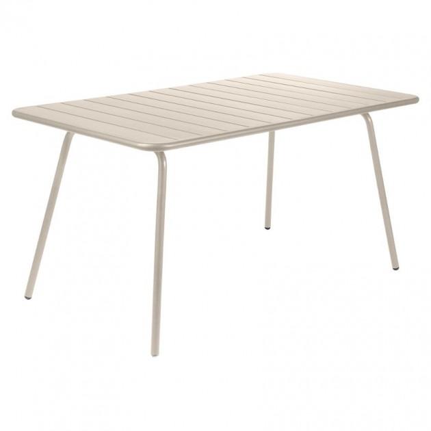 Обідній стіл Luxembourg 4133 Nutmeg (413314) - Стіл Luxembourg 143x80 Fermob