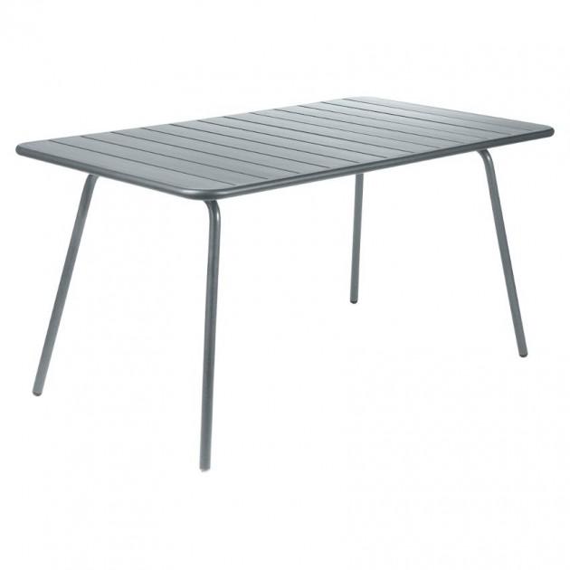 Обідній стіл Luxembourg 4133 Storm Grey (413326) - Стіл Luxembourg 143x80 Fermob