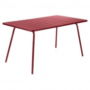 Обідній стіл Luxembourg 4133 Chili (413343) - Стіл Luxembourg 143x80 Fermob