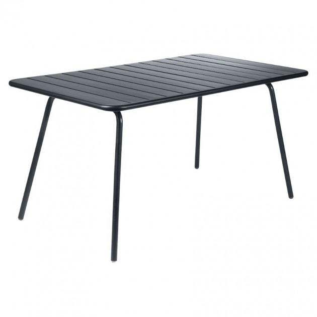Обідній стіл Luxembourg 4133 Anthracite (413347) - Стіл Luxembourg 143x80 Fermob