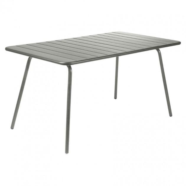 Обідній стіл Luxembourg 4133 Rosemary (413348) - Стіл Luxembourg 143x80 Fermob