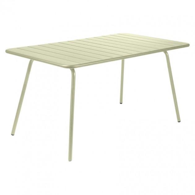 Обідній стіл Luxembourg 4133 Willow Green (413365) - Стіл Luxembourg 143x80 Fermob