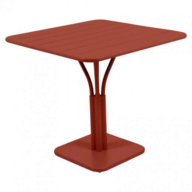 Стіл Luxembourg 4134 Red Ochre (413420) - Стіл на центральній опорі Luxembourg Fermob