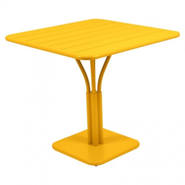 Стіл Luxembourg 4134 Honey (413473) - Стіл на центральній опорі Luxembourg Fermob