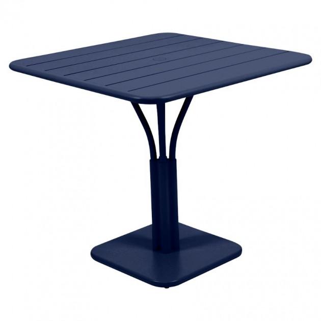 Стіл Luxembourg 4134 Deep Blue (413492) - Стіл на центральній опорі Luxembourg Fermob