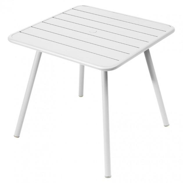 Стіл Luxembourg 4135 Cotton White (413501) - Стіл Luxembourg 80x80 Fermob