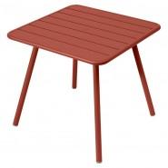 Стіл Luxembourg 4135 Red Ochre (413520) - Стіл Luxembourg 80x80 Fermob