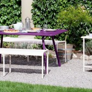 Обідній стіл Luxembourg 4136 Storm Grey (413626) - Стіл Luxembourg 165x100 Fermob