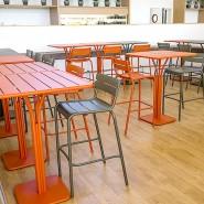 Барний стіл Luxembourg 4140 Carrot (414027) - Барний стіл на центральній опорі Luxembourg Fermob