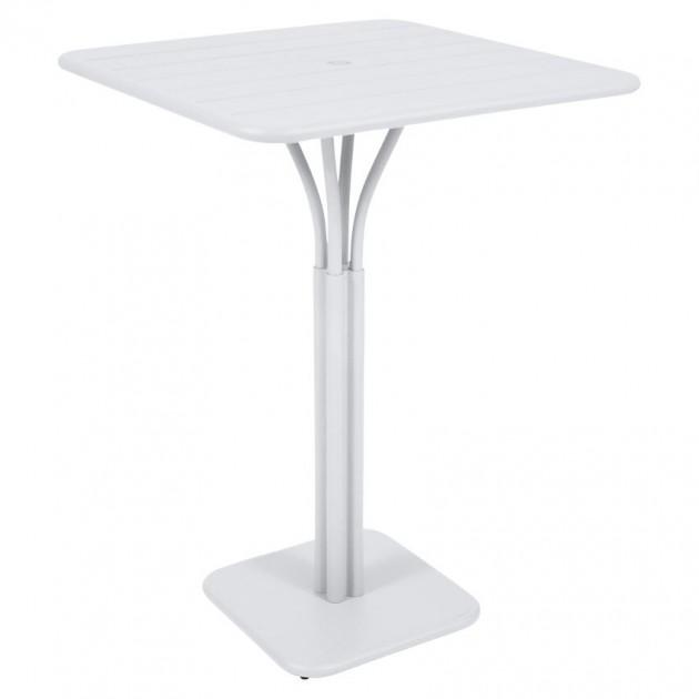 Барний стіл Luxembourg 4140 Cotton White (414001) - Барний стіл на центральній опорі Luxembourg Fermob