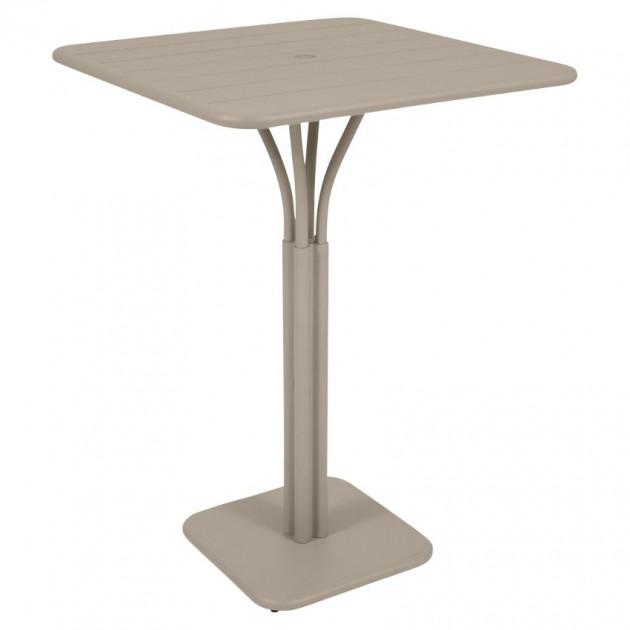 Барний стіл Luxembourg 4140 Nutmeg (414014) - Барний стіл на центральній опорі Luxembourg Fermob