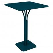Барний стіл Luxembourg 4140 Acapulco Blue (414021) - Барний стіл на центральній опорі Luxembourg Fermob