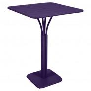 Барний стіл Luxembourg 4140 Aubergine (414028) - Барний стіл на центральній опорі Luxembourg Fermob