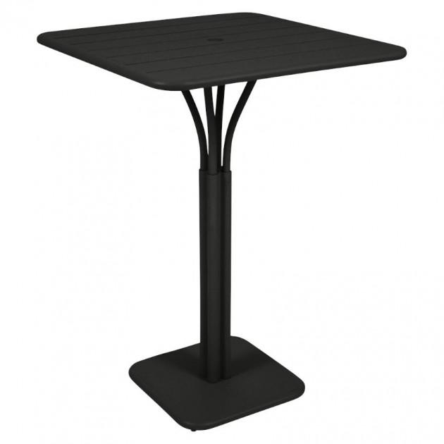 Барний стіл Luxembourg 4140 Liquorice (414042) - Барний стіл на центральній опорі Luxembourg Fermob