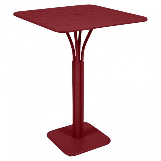 Барний стіл Luxembourg 4140 Chili (414043) - Барний стіл на центральній опорі Luxembourg Fermob
