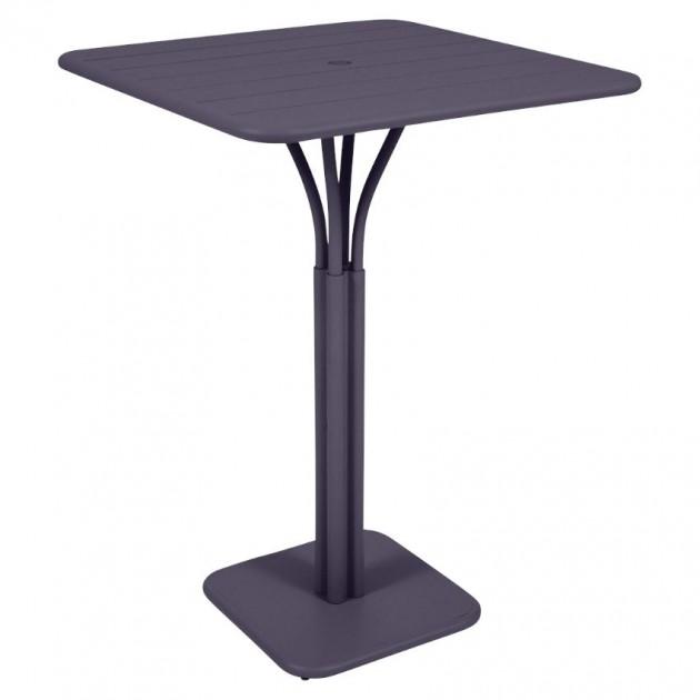 Барний стіл Luxembourg 4140 Plum (414044) - Барний стіл на центральній опорі Luxembourg Fermob