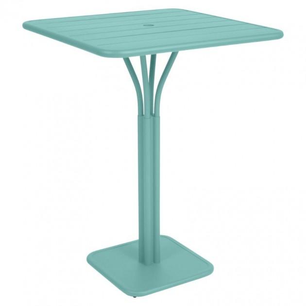 Барний стіл Luxembourg 4140 Lagoon Blue (414046) - Барний стіл на центральній опорі Luxembourg Fermob