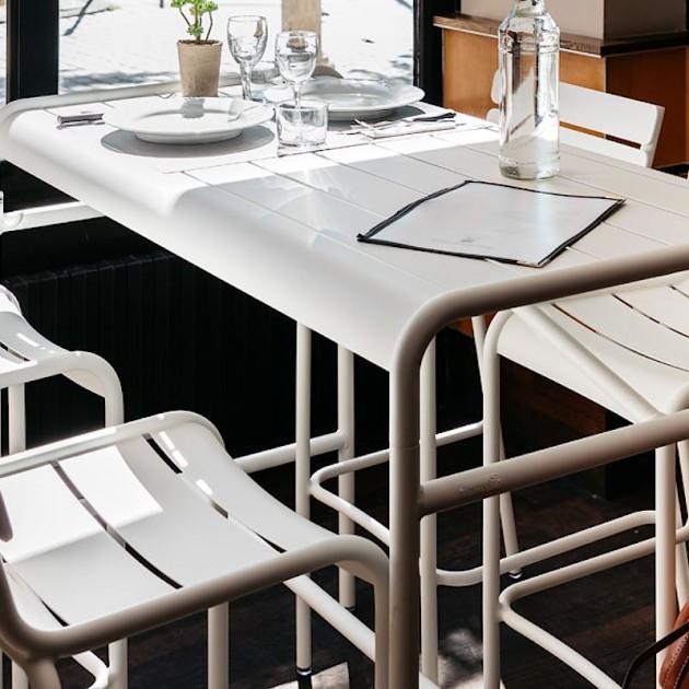 Барний стіл Luxembourg 4141 Russet (414109) - Барний стіл Luxembourg 126x73 Fermob