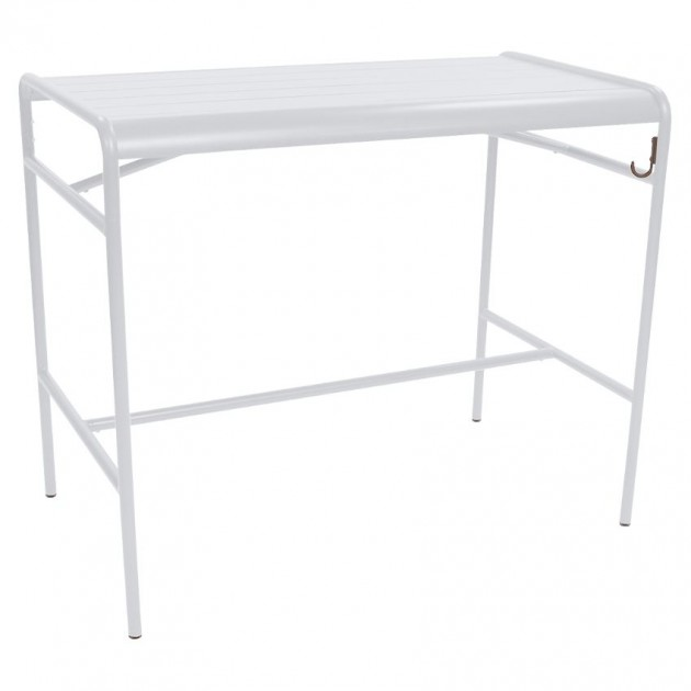 Барний стіл Luxembourg 4141 Cotton White (414101) - Барний стіл Luxembourg 126x73 Fermob