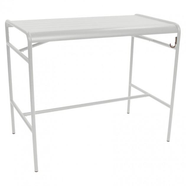 Барний стіл Luxembourg 4141 Steel Grey (414138) - Барний стіл Luxembourg 126x73 Fermob