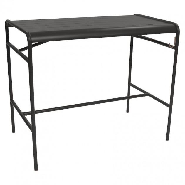 Барний стіл Luxembourg 4141 Liquorice (414142) - Барний стіл Luxembourg 126x73 Fermob