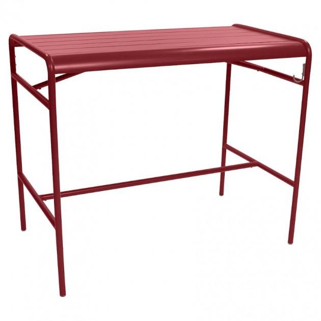 Барний стіл Luxembourg 4141 Chili (414143) - Барний стіл Luxembourg 126x73 Fermob