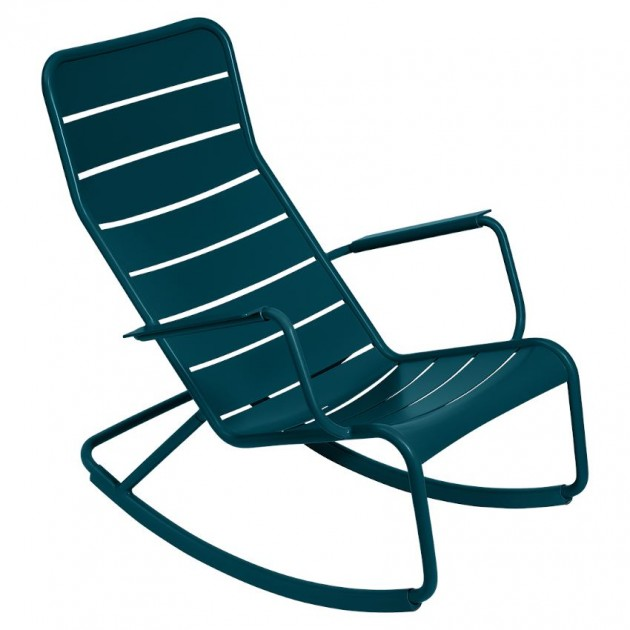 Крісло-гойдалка Luxembourg 4166 Acapulco Blue (416621) - Крісло-гойдалка Luxembourg Fermob