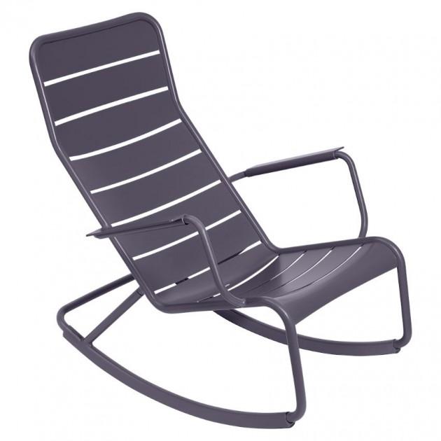 Крісло-гойдалка Luxembourg 4166 Plum (416644) - Крісло-гойдалка Luxembourg Fermob