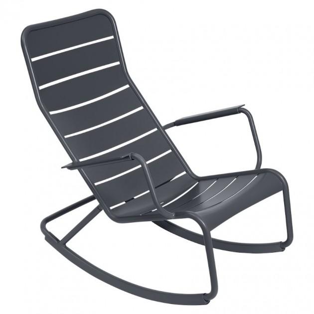 Крісло-гойдалка Luxembourg 4166 Anthracite (416647) - Крісло-гойдалка Luxembourg Fermob