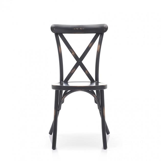 Cтілець Hilar Vintage Black (100NRD) - Стільці для вуличних кафе