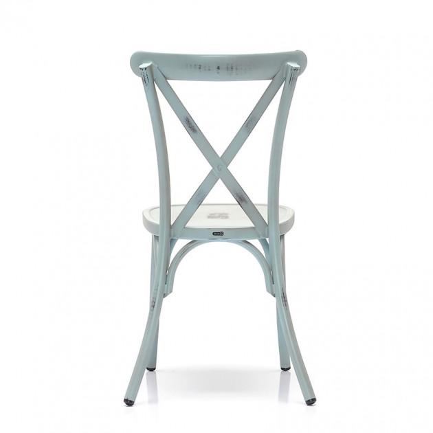 Cтілець Hilar Vintage Blue (100TUJ) - Стільці для вуличних кафе