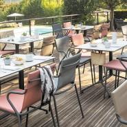 Вуличне крісло Horizon Noisette (lfm9001-9077) - Вуличні крісла для кафе Lafuma