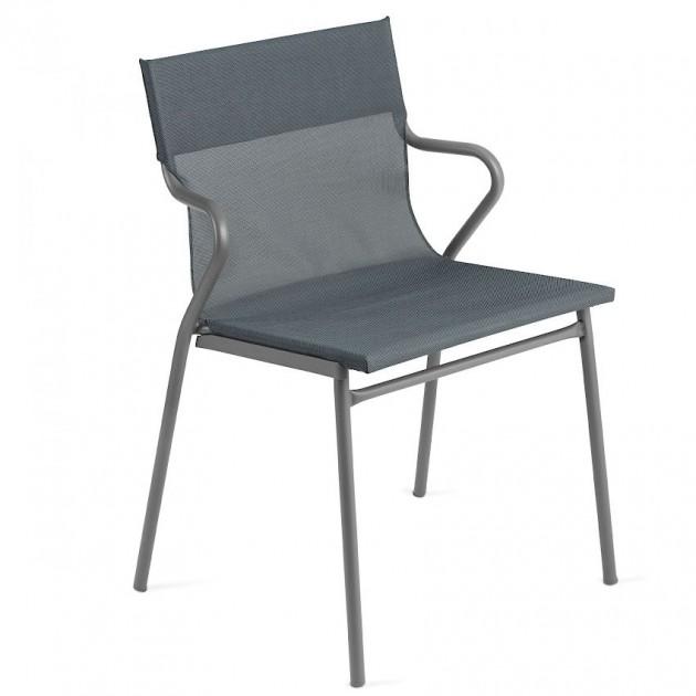 Вуличне крісло Horizon Storm Grey (lfm9001-9075) - Вуличні крісла для кафе Lafuma